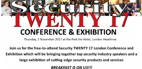 Join Acam at Security TWENTY 17 London | Acam Technology