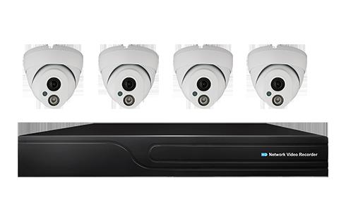 Prime PoE NVR Camera Kit