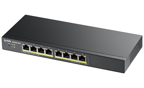 Acam 8 Port PoE Switch