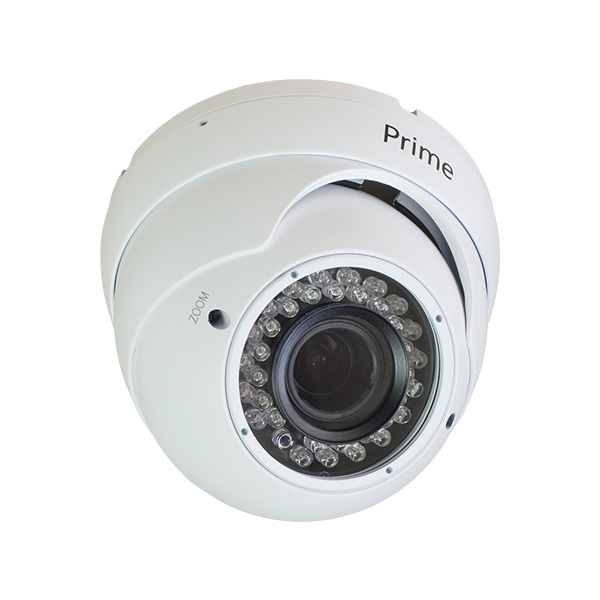 White Prime 2MP HD Eyeball Camera