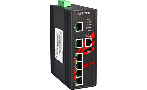 Antaira 6 Port PoE Switch