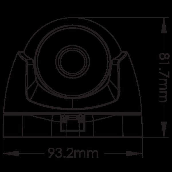 Provision 2MP Mini Dome