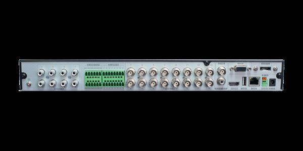 16Ch DVR Rear Panel