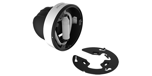 Milesight 180° Panoramic Mini Dome integrated JB